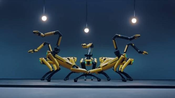 Robot 'Spot' danst in nieuwe video op nummer van BTS