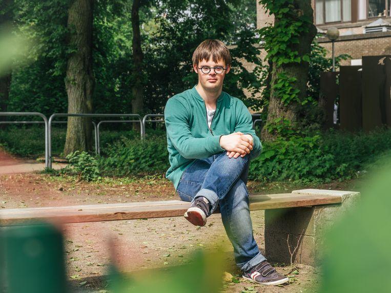 Tane Depuydt is kandidaat voor Groen in Brugge. Beeld Alexander D'Hiet