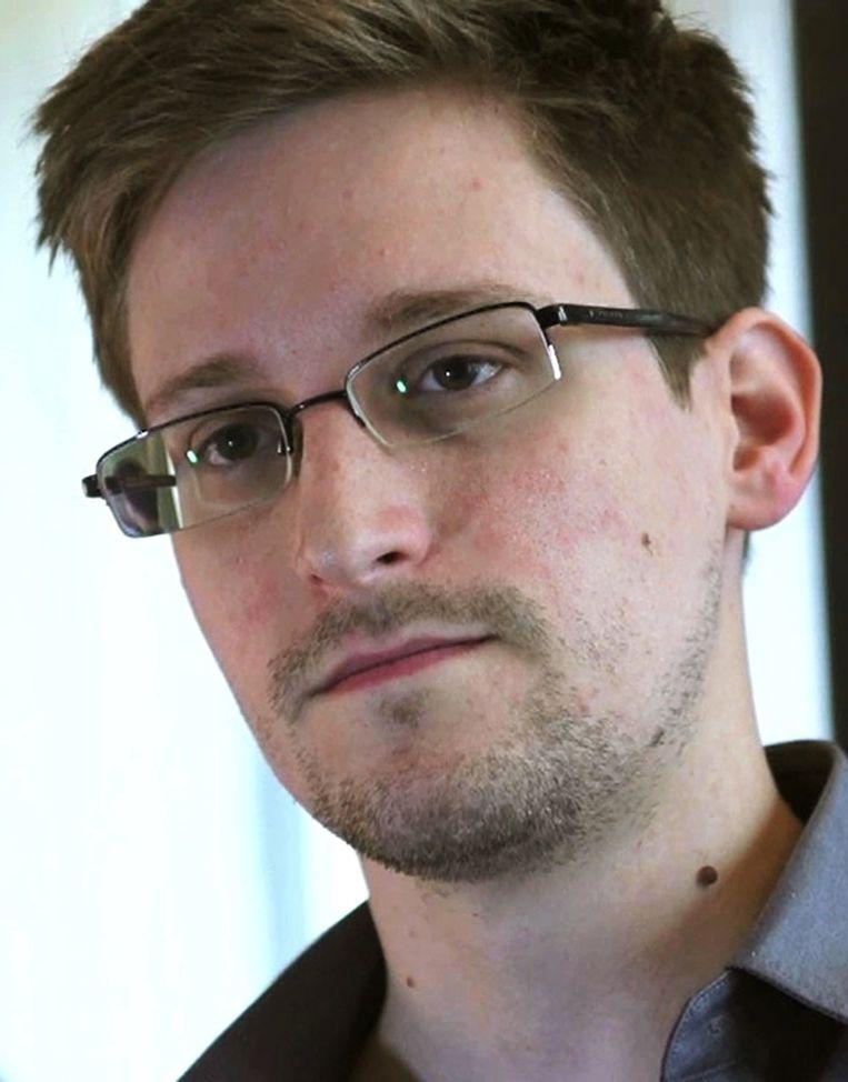 Edward Snowden Beeld reuters