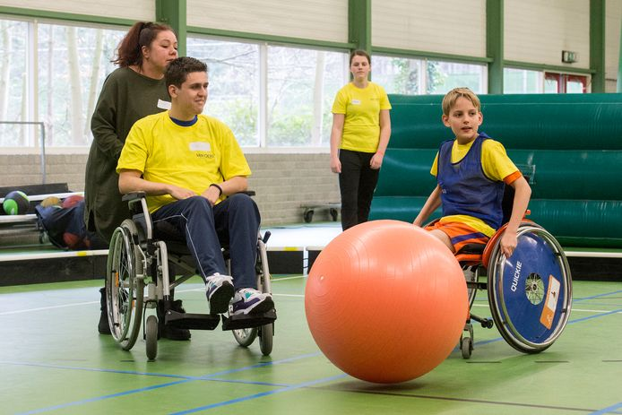 Alle kinderen moeten kunnen sporten. Voor kinderen met een beperking is dat niet altijd vanzelfsprekend