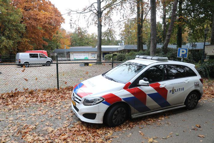 Het drugslab werd gevonden bij voormalig restaurant en partycentrum Schaveren.