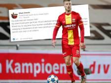 Oldenzaalse profvoetballer Droste zoekt club via LinkedIn: 'Mijn ego is hier niet te groot voor'