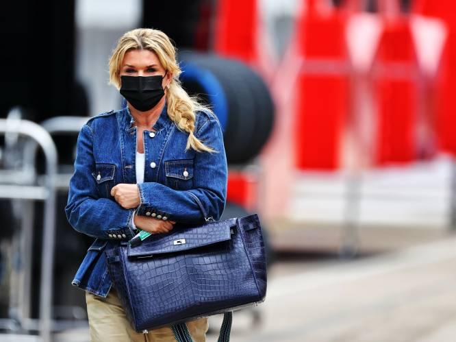 Onze F1-watcher spot Corinna Schumacher in Imola, terwijl Britse pers gretig speculeert over haar man en villa van 59 miljoen euro