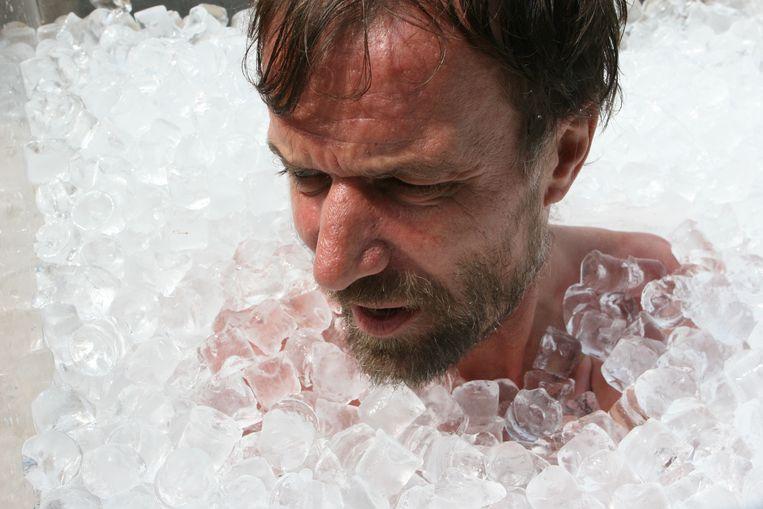 Wim Hof, ook bekend als The Iceman Beeld ANP