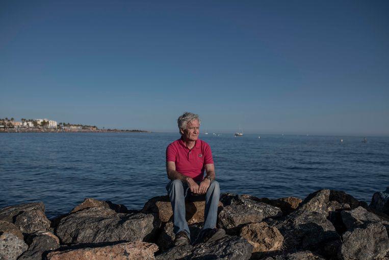 José Rivera in Cabo de Gata: