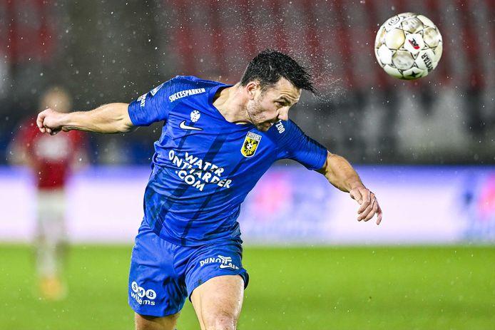 Thomas Bruns start bij Vitesse in de basis. Na een sterk optreden tegen Heracles wacht nu FC Utrecht.
