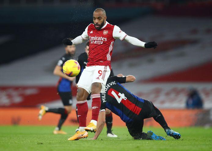 Au contraire de Michy Batshuayi, Luka Milivojevic était sur la pelouse jeudi soir contre Arsenal.