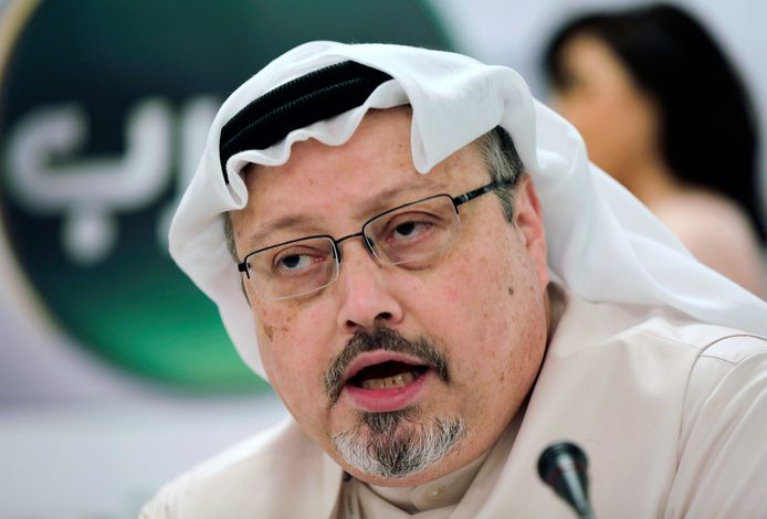 Jamal Khashoggi op archiefbeeld uit 2014