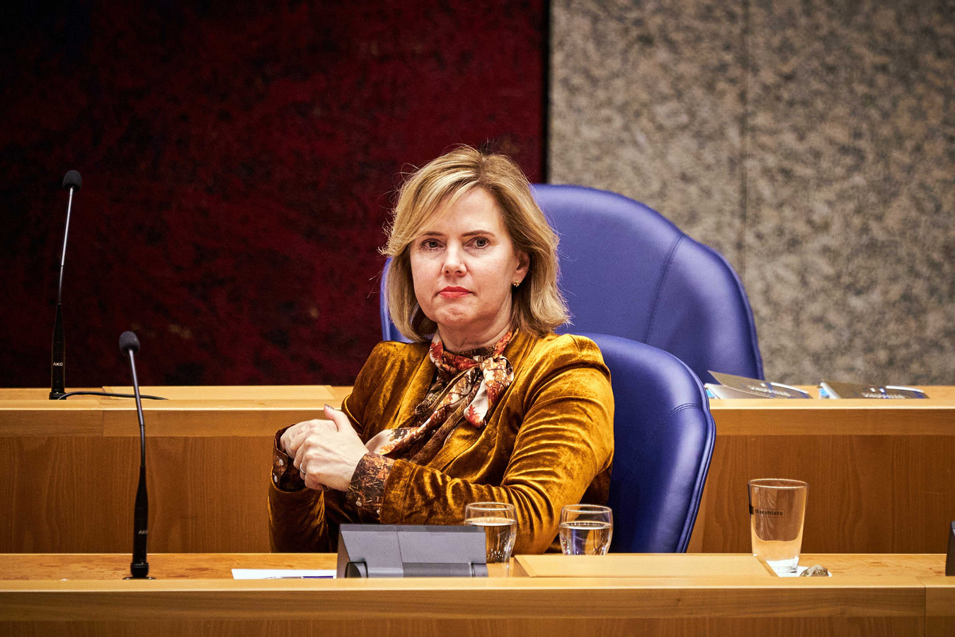 Minister Cora van Nieuwenhuizen van Infrastructuur en Waterstaat (VVD)