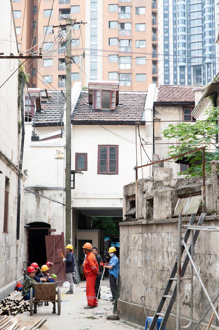 In augustus zal Wuheli, zoals dit buurtje uit 1928 heet, verdwenen zijn. Beeld Matjaz Tancic