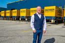 Aat van der Meer, directeur van transportbedrijf Dachser Nederland in Waddinxveen.
