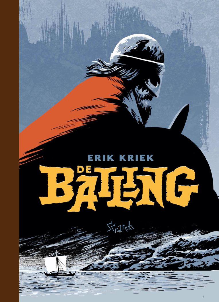 Erik Kriek voltooide zijn opvallende graphic novel 'De balling' na een herseninfarct. Beeld rv
