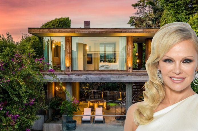 Pamela Anderson verkoopt haar woning