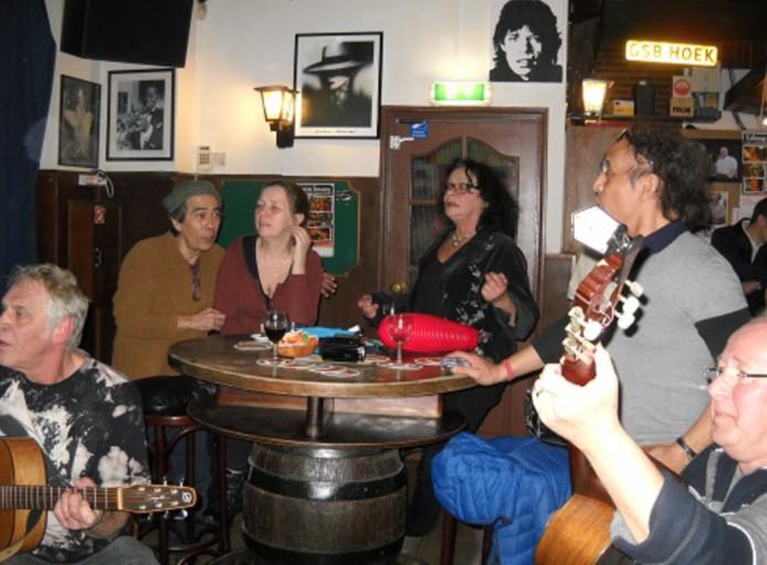 Een eerdere sing/play along avond in Lohengrin