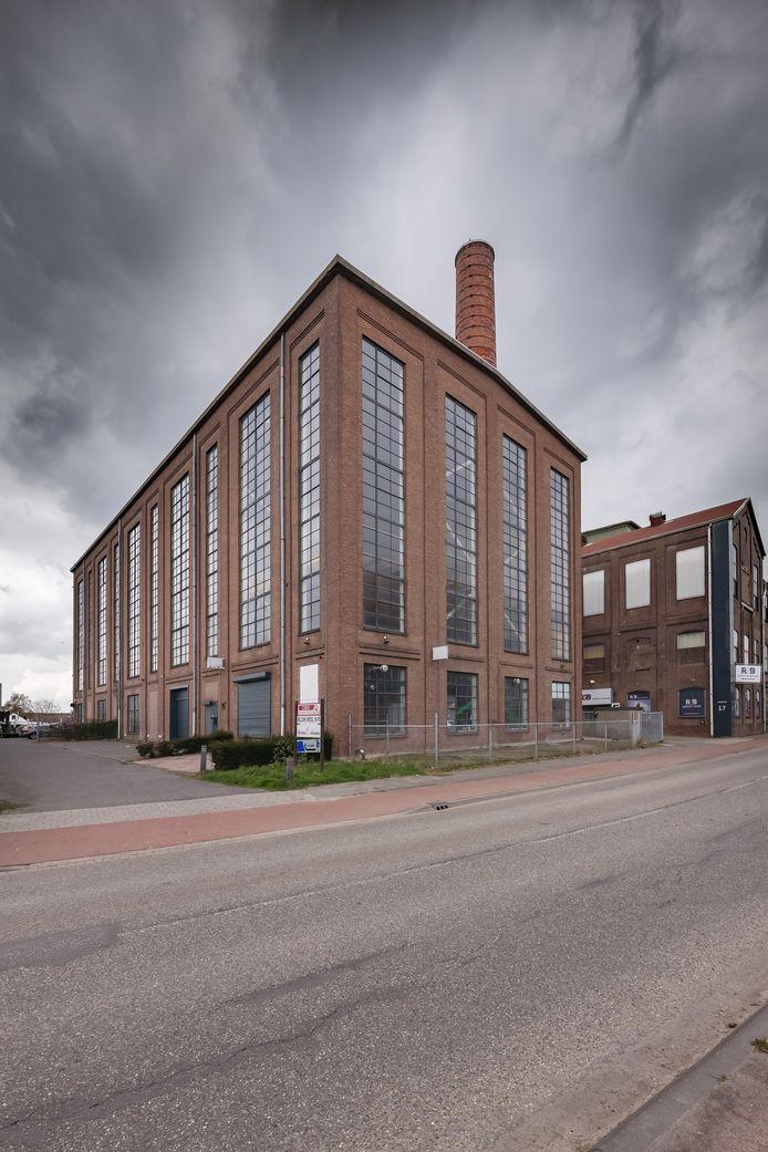 Het  voormalige ketelhuis van de oude suikerfabriek in Zevenbergen.