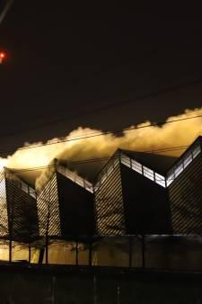 Fikse brand bij afvalinzamelaar Avri in Geldermalsen: 'Gelukkig kan de bedrijfsvoering doorgaan'