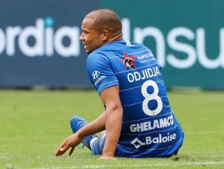 """Vrees om lange blessure voor Odjidja, Vanhaezebrouck: """"Ik hoop dat we hem niet kwijt zijn voor een aantal weken"""""""