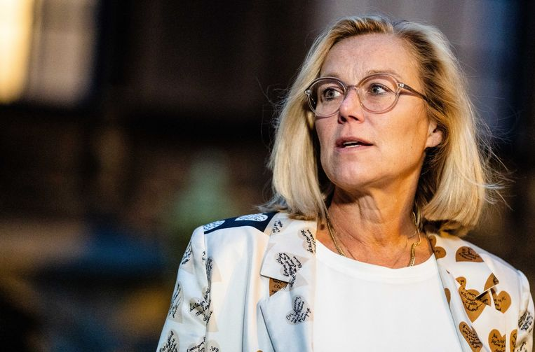 Sigrid Kaag (D66). Beeld ANP