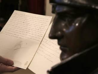 Brief en manuscript Napoleon geveild voor 560.000 euro