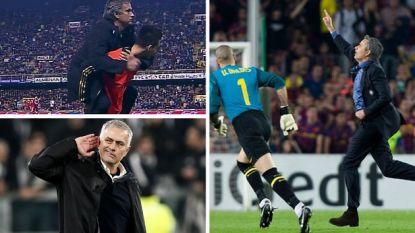 De wraak op Camp Nou, paardje doen, de 110 meter horden: de 7 meest provocatieve vieringen uit het grote José Mourinho-showboek