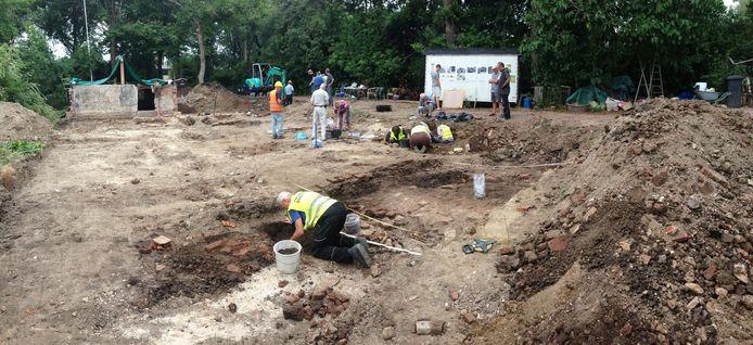Op de Zogweteringlaan in Maarssen zijn bijzondere archeologische vondsten gedaan.