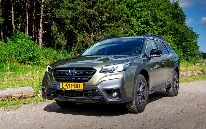 De Subaru Outback  is zeer comfortabel, maar ook zwaar en dorstig.