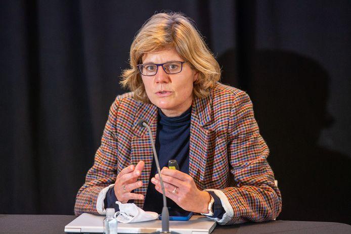 Inge Neven, hoofd van de Brusselse gezondheidsinspectie.