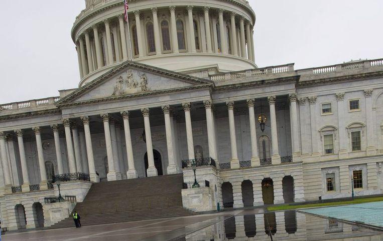 Het Capitool in de Amerikaanse hoofdstad Washington D.C. Beeld anp