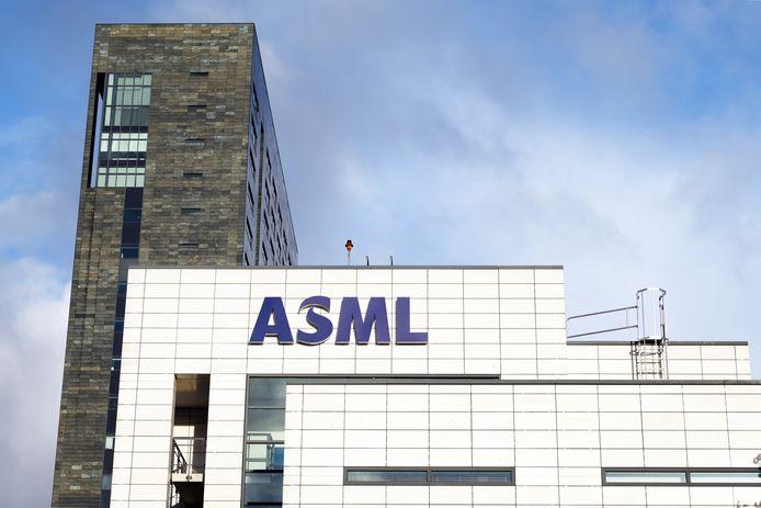 ASML logo en gebouwen