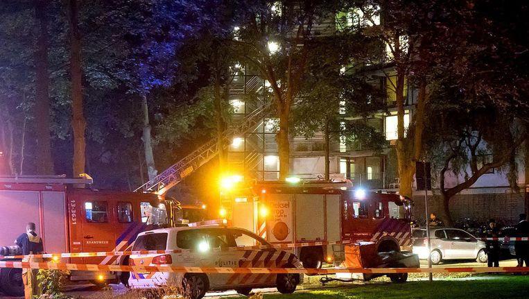 Bij de brand kwam de 27-jarige David Swart om het leven. Beeld Reinder van Zaanen