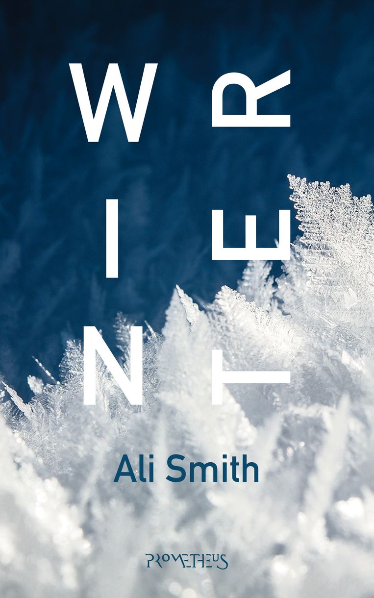 Ali Smith: Winter. Omslag Sander Patelski. 2018. Beeld Prometheus