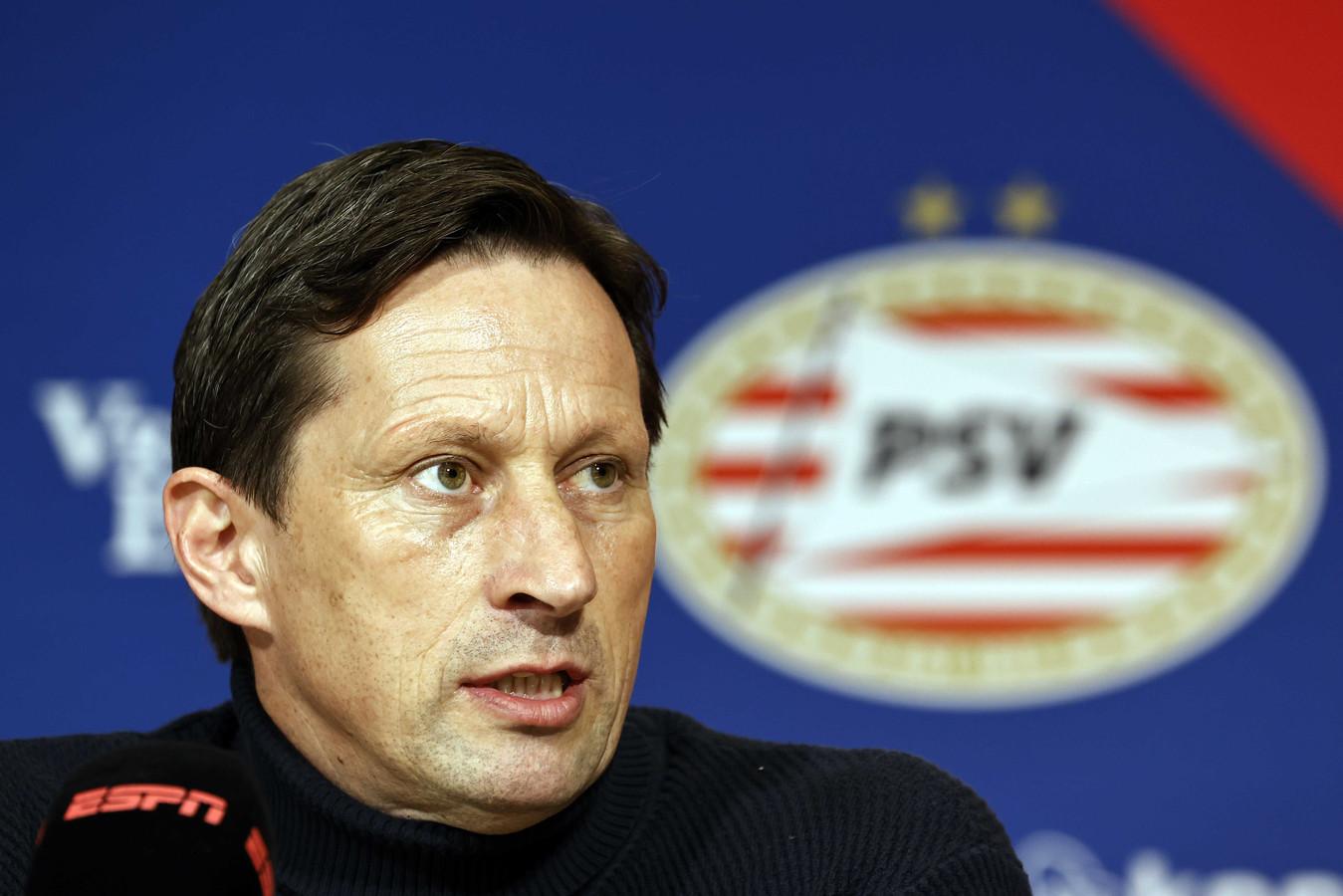 Roger Schmidt had op de persconferentie weinig aan te merken op het spel van zijn ploeg.