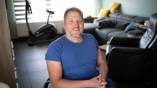 """Mario gaat 300 km door Vlaanderen rijden met rolstoel: """"Om de aandoeningen open rug en waterhoofd onder de aandacht te brengen"""""""
