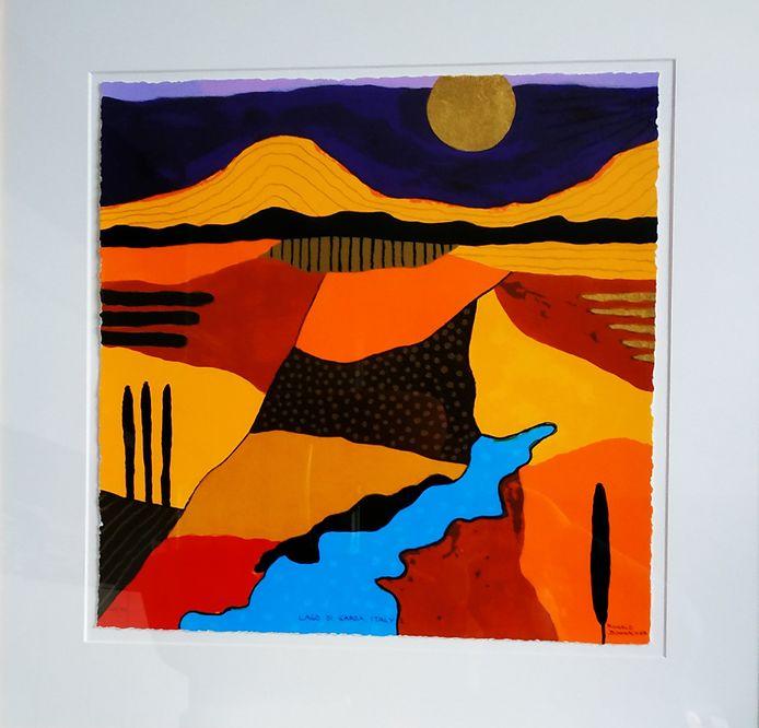 De zeefafdrukken zijn gemaakt door Ronald Boonacker. Prijs (met korting): ongeveer 150 euro per stuk.