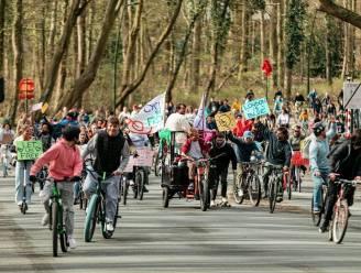 2.000 fietsers voerden actie in Brussel voor versoepelingen
