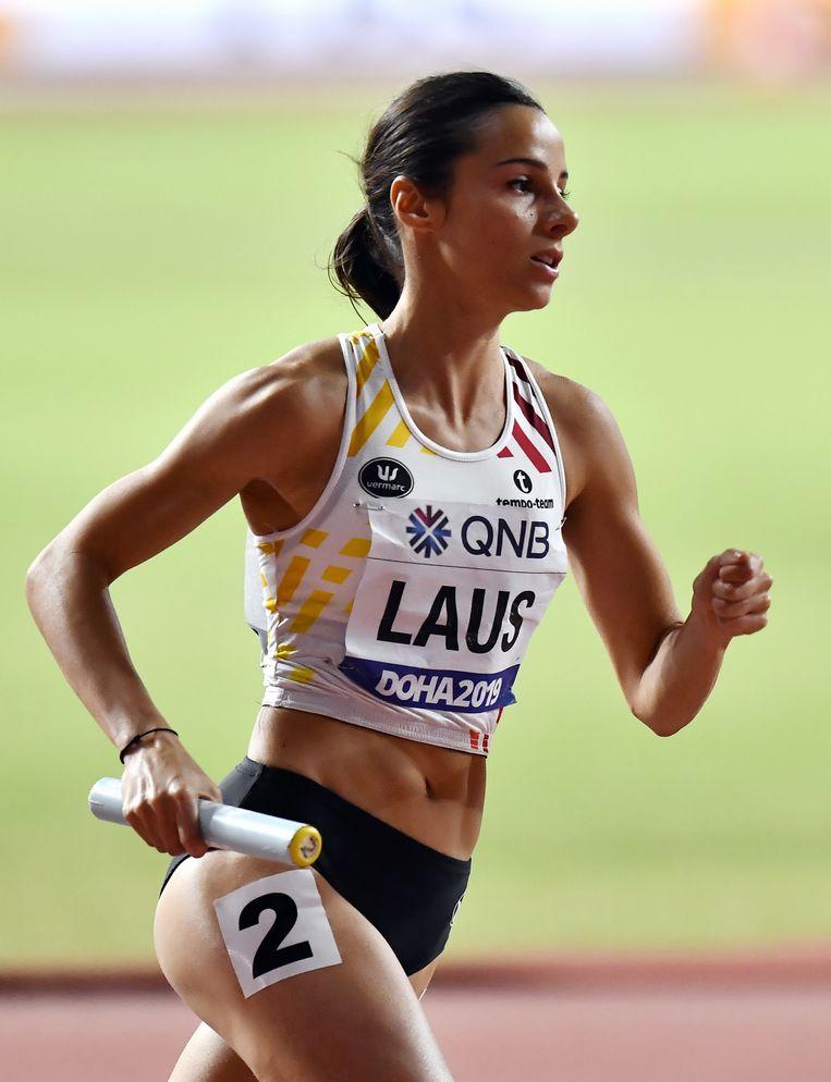 Camille Laus was de slotloopster bij de Cheetahs.