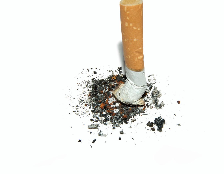cigarette stub Beeld Getty Images/iStockphoto