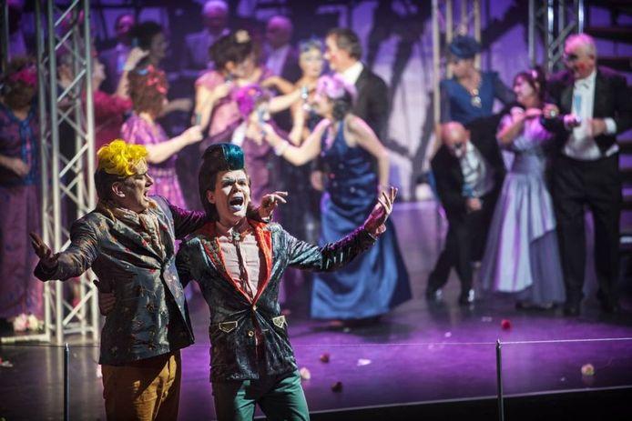 De stadsopera Jheronimus stond in 2013 negen keer op het podium in Den Bosch.