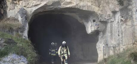 Bluswerkzaamheden Maastrichtse grotbrand opnieuw gestaakt