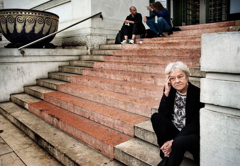 Frie Leysen in 2014 in Wenen. Beeld Eric de Mildt