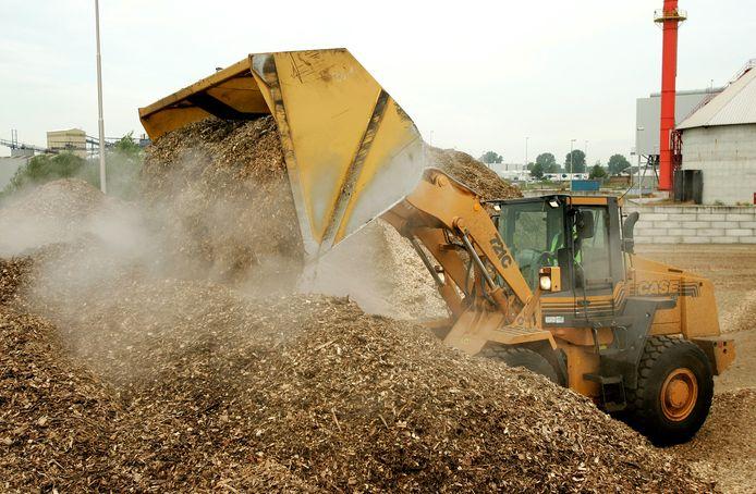 De biomassacentrale in Cuijk.