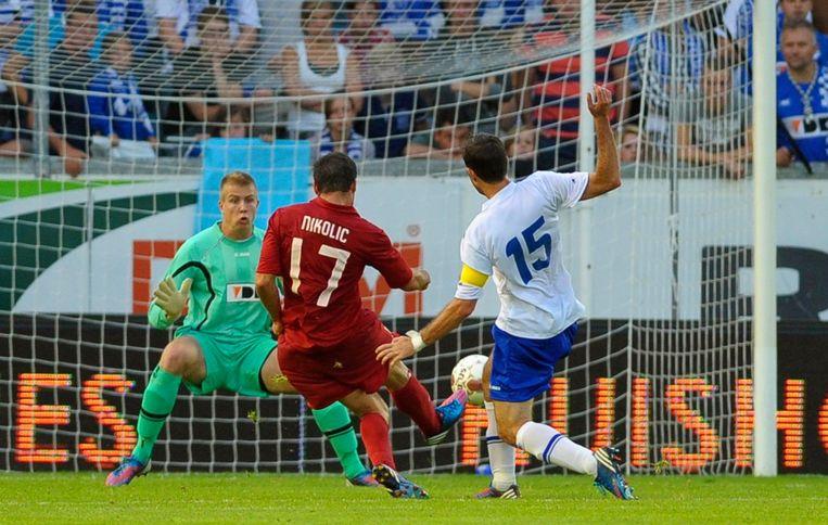 Nikolic speelde met Videoton vier jaar geleden nog tegen AA Gent. In de derde voorronde voor de Europa League scoorde de Hongaar twee keer in het Jules Ottenstadion (0-3). Ook in de heenmatch was Nikolic trefzeker (1-0). Beeld REUTERS