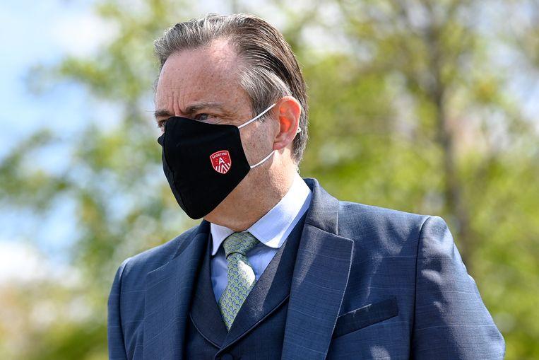 Antwerps burgemeester Bart De Wever (N-VA):