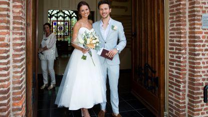IN BEELD: Yannick Bovy trouwt met Stefanie: deze week voor de wet, volgende week in Italië