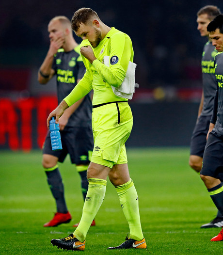 Helemaal niets in Amsterdam voor PSV: 'Misschien was het de spanning'