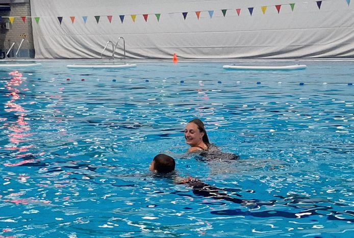 Zwemmen in De Peppel in Ede.