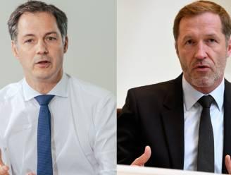 Koning stelt Alexander De Croo (Open Vld) en Paul Magnette (PS) aan als coformateurs