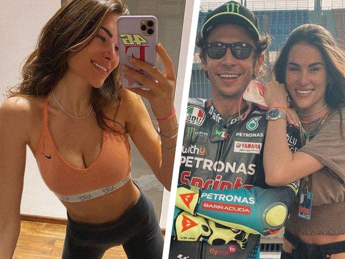 Francesca Sofia Novello en Valentino Rossi vormen al vier jaar een koppel.