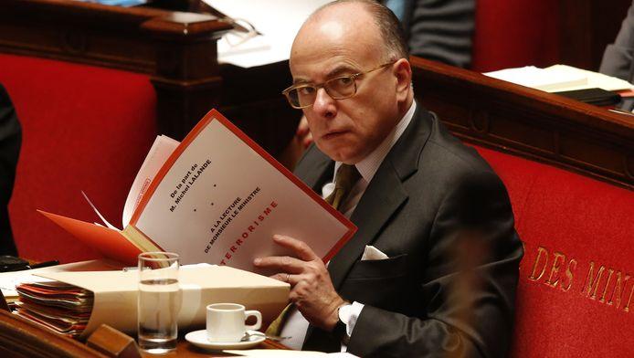 De Franse minister van Binnenlandse Zaken Bernard Cazeneuve
