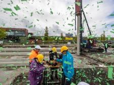 Eerste paal geslagen voor de bouw van een 24-uurs zorglocatie op het Stationskwartier in Kampen